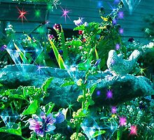 Diamonds,Stars and Flowers by angelheart