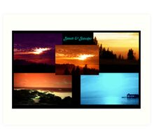 Sunsets & Seascapes Art Print