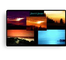 Sunsets & Seascapes Canvas Print