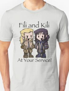 Little Fili and Kili Unisex T-Shirt