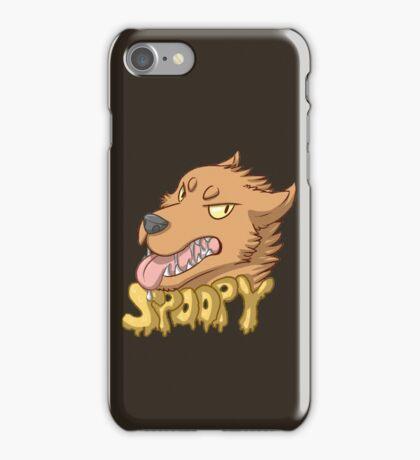Spoopy Werewolf iPhone Case/Skin