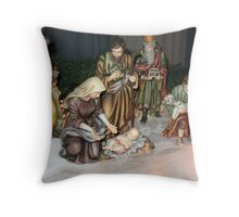 Nativity Throw Pillow