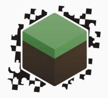 Grass Block One Piece - Short Sleeve