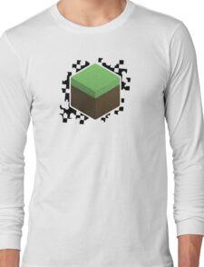Grass Block Long Sleeve T-Shirt