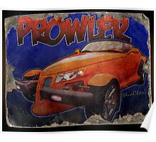 Prowler Tin Sign Discovered In 2153 Poster