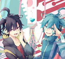 Ene Virtual and Real by Revoltec17