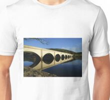 Ashopton Viaduct and Ladybower Unisex T-Shirt