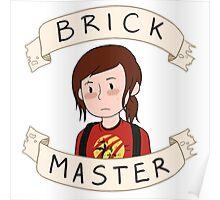 Ellie-Brick Master Poster