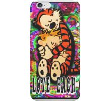 They love each other iPhone Case/Skin