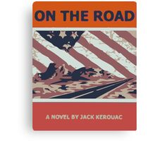 Kerouac On The Road Canvas Print