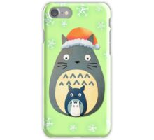 Totoro Christmas iPhone Case/Skin