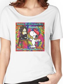 when I paint my masterpiece!!! Women's Relaxed Fit T-Shirt