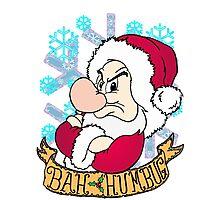 Grumpy Bah Humbug Photographic Print