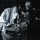 doubting thomas (after caravaggio) by michael charlwood