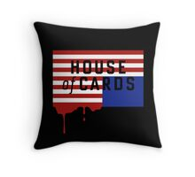 "House of Cards - ""Casualties"" Throw Pillow"