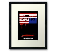 """House of Cards - """"Casualties"""" Framed Print"""