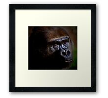 YOU SPOKE Framed Print