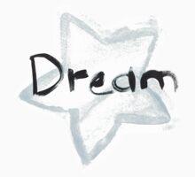 Blue Watercolor Stars Dream Kids Clothes
