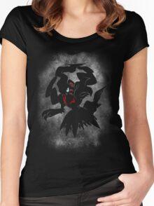 Dark Power! Women's Fitted Scoop T-Shirt