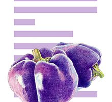 E is for Eggplant by Mariana Musa