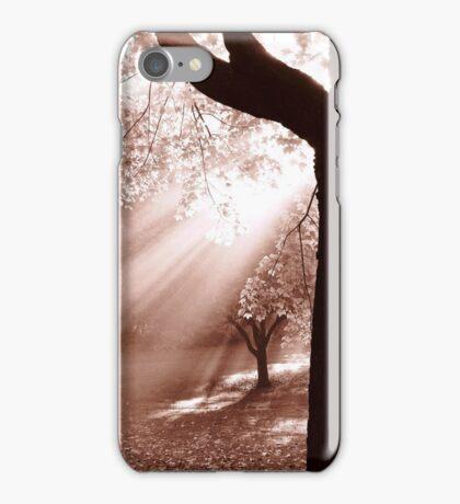 God's Light Shines Through iPhone Case/Skin