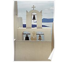 Bells, Santorini Poster