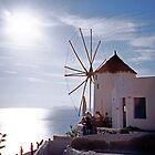 Santorini by Leigh Penfold