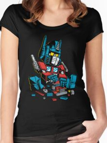 Autoblocks Women's Fitted Scoop T-Shirt