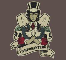 EL CAMP0SANTER0 color T-Shirt