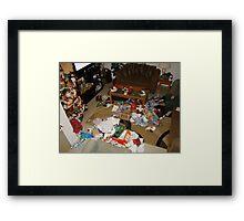 Christmas morning #2 Framed Print