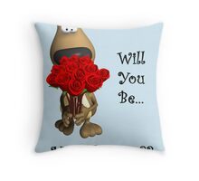 Will You Throw Pillow
