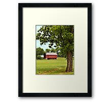 Early Spring Crops in Pennsylvania Framed Print