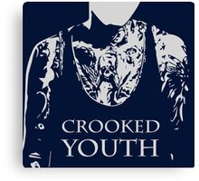 crooked youth Canvas Print