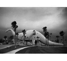 Dinosaur at California Roadside Attraction Photographic Print