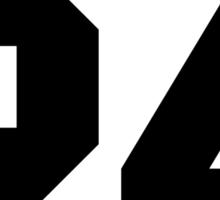 Stiles Stilinski Jersey #24 - Black Text Sticker