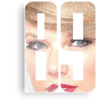 Taylor Swift 1989  Canvas Print