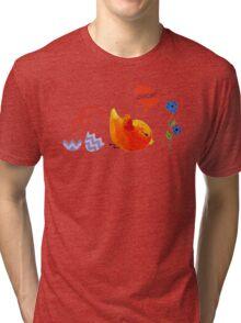 Flying lesson: landing Tri-blend T-Shirt