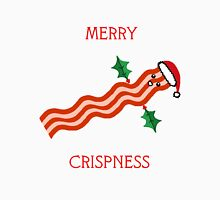 Merry Crispness Bacon Design Unisex T-Shirt
