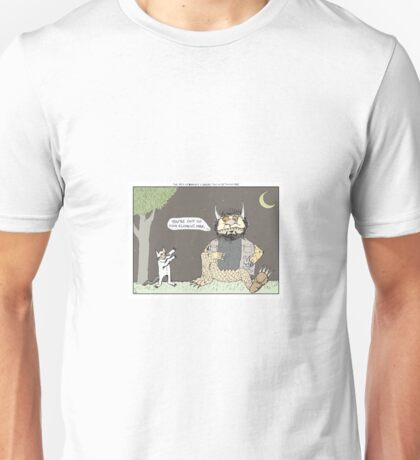 The Big Lebowski + Where the Wild Things Are Unisex T-Shirt