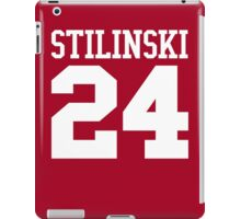 Stiles Stilinski Jersey #24 - White Text iPad Case/Skin