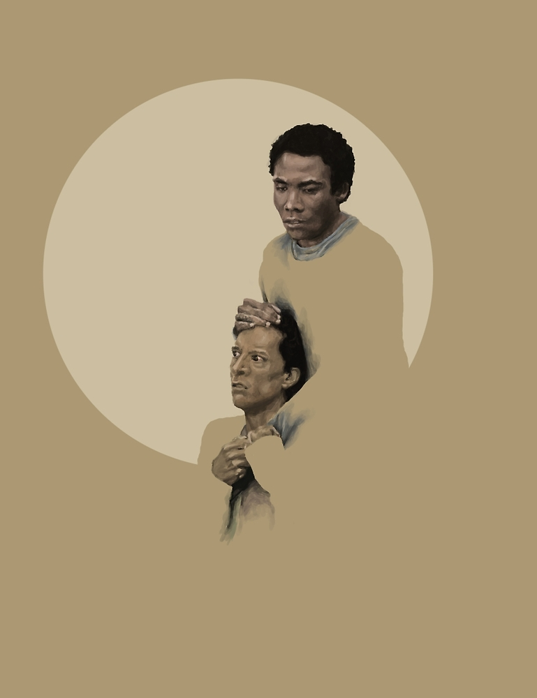 Troy and Abed being sad by mycolour
