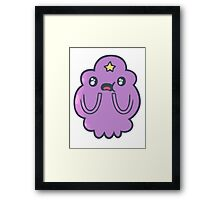 Lumpy space princess - amazed Framed Print