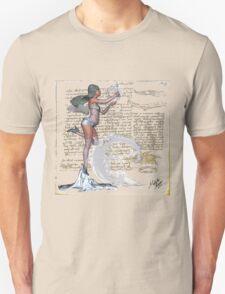 Vintage Snow Angel Unisex T-Shirt