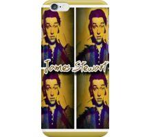 James Stewart Grid iPhone Case/Skin