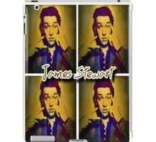 James Stewart Grid iPad Case/Skin