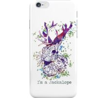 Im a Jackalope iPhone Case/Skin