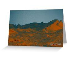 Mars? Greeting Card