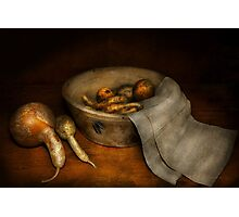 Kitchen - Vegetable - A still life with gourds Photographic Print