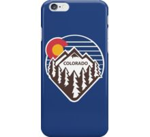 Colorado Throwback iPhone Case/Skin