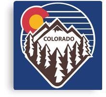 Colorado Throwback Canvas Print